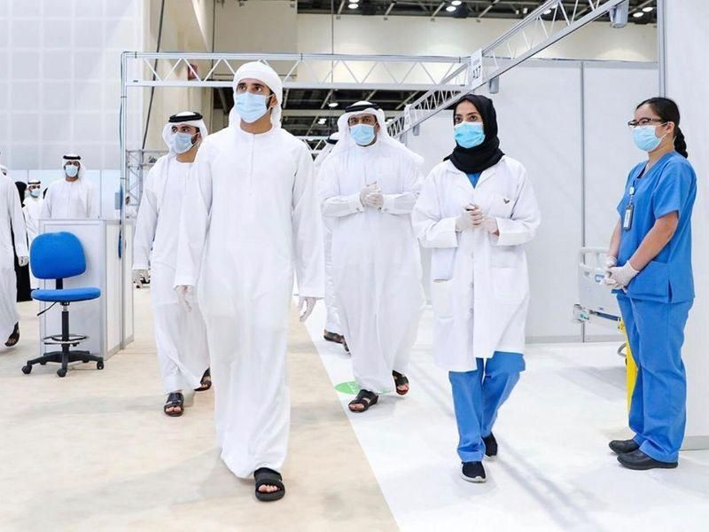Dubai World Trade Centre turned into 3,000-bed field hospital