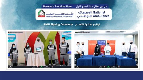 National Ambulance partners with HCT to train, recruit Emirati emergency medical technicians