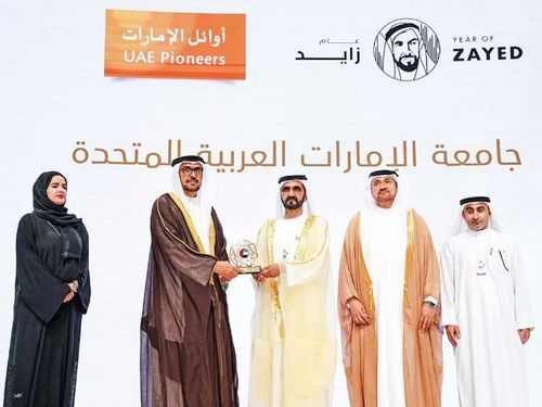 UAE Pioneers Award: 31 Emirati achievements recognised