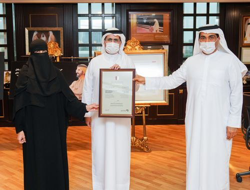 DEWA wins Gold at Dubai Human Development Award 2020