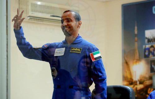 Sheikh Zayed's dream is coming true': Major Hazza Al Mansouri reveals pride before blast-off