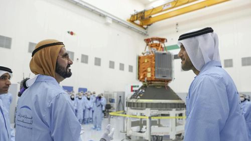 UAE partners with Airbus to launch satellite testing and assembly centre