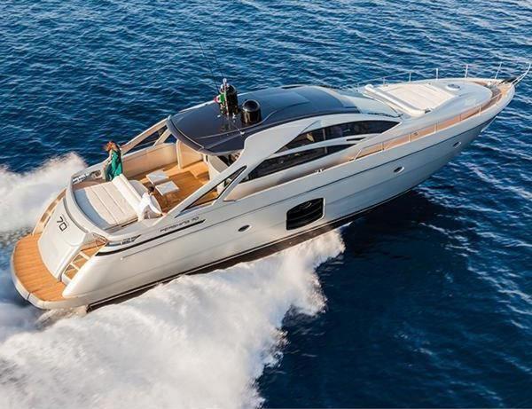 Pershing Luxury Yacht