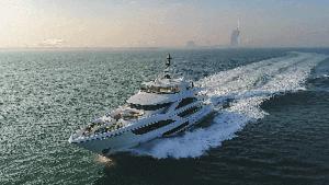 Image Yacht Burj Al Arab View