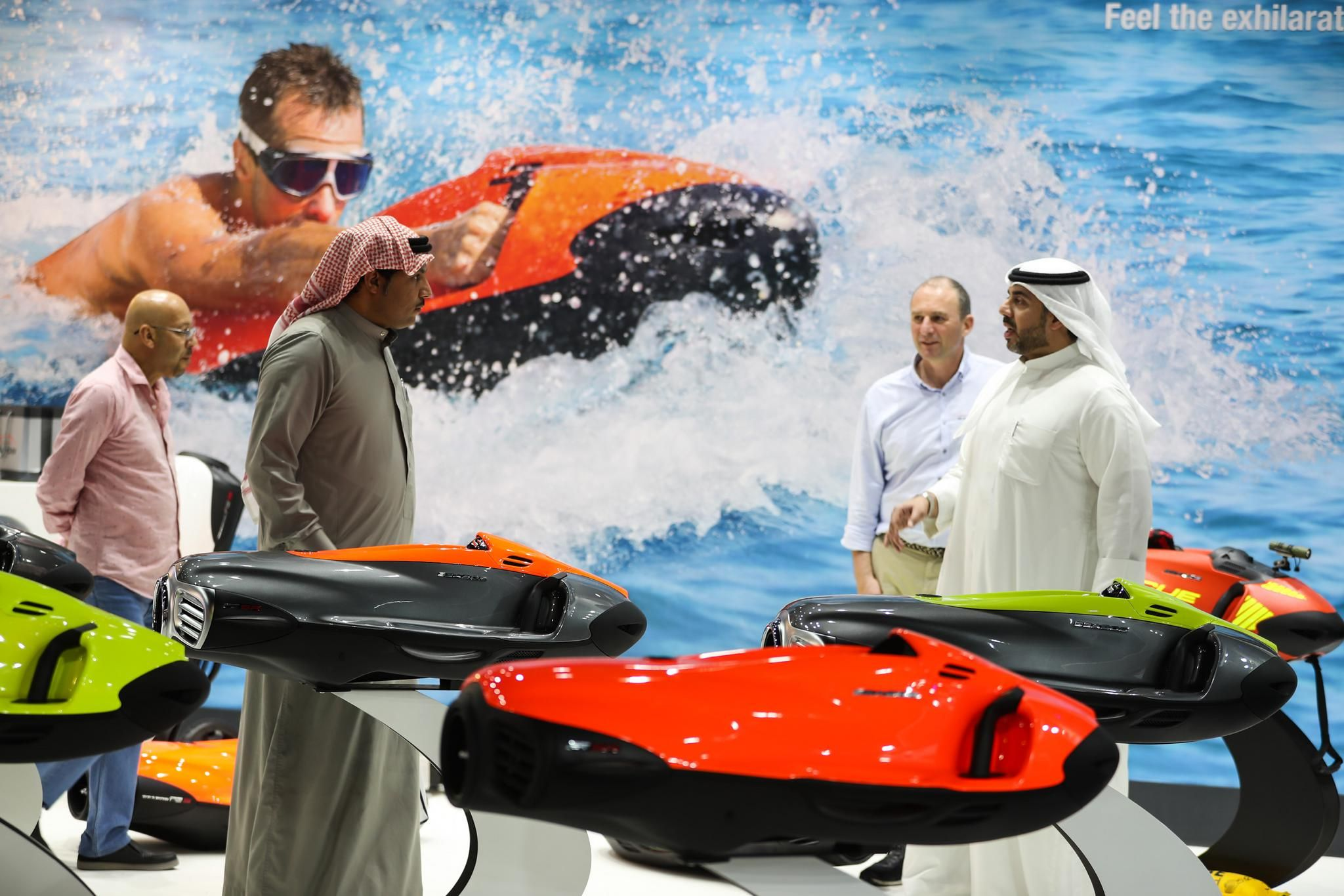 Water sports sector