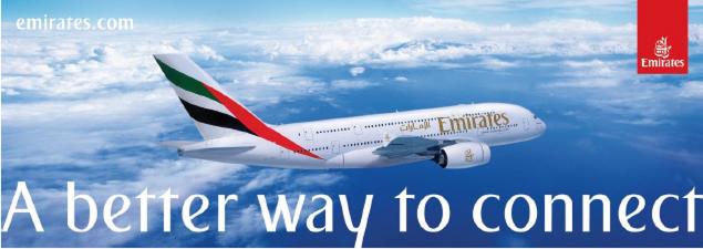 Travel on Emirates to Dubai International Boat Show 2020