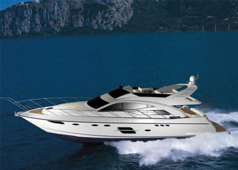 Image Yacht on the Sea