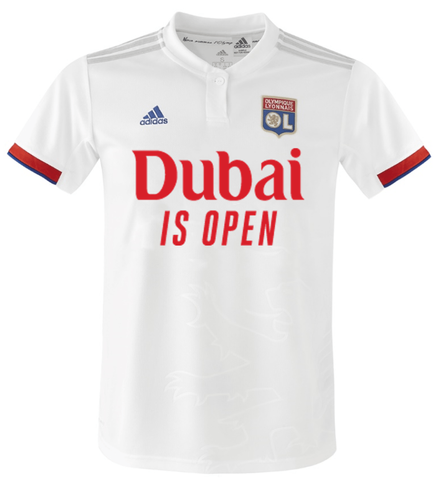 French football club plays debut match in 'Dubai is Open' jerseys