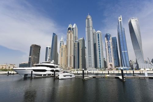 Dubai Harbour welcomes first yachts