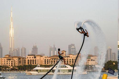 Dubai sports activities get a flying start