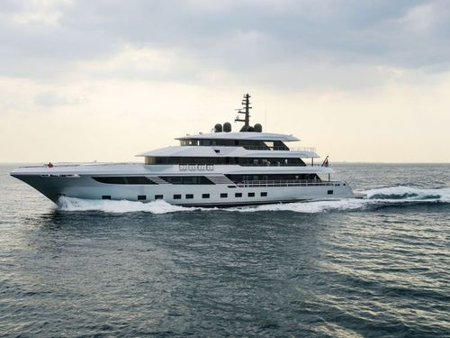 Gulf Craft's made-in-UAE mega-yacht hits the seas