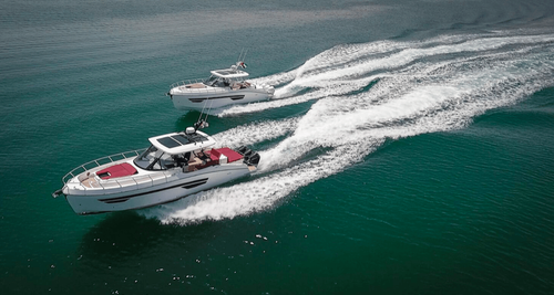 Double the excitement with the Oryx 379 - Gulf Craft's next generation sport cruiser