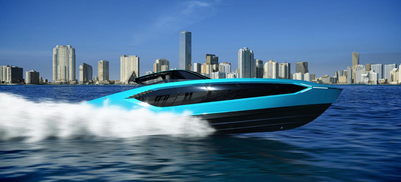 Tecnomar for Lamborghini 63: the motor yacht unveiled