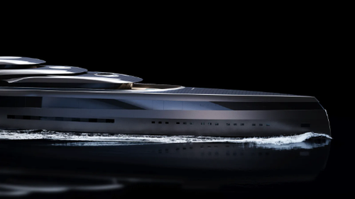 Feadship Reveals 110-Metre Superyacht Concept Escape