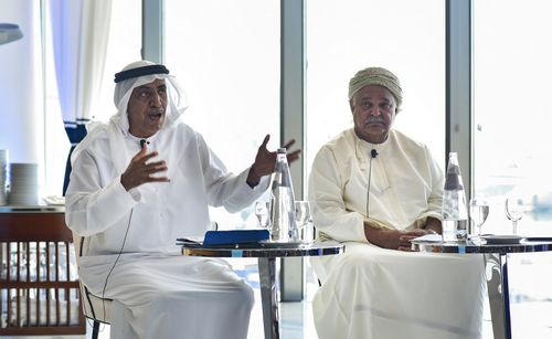 Industry leaders at the Middle East Yachting Conference