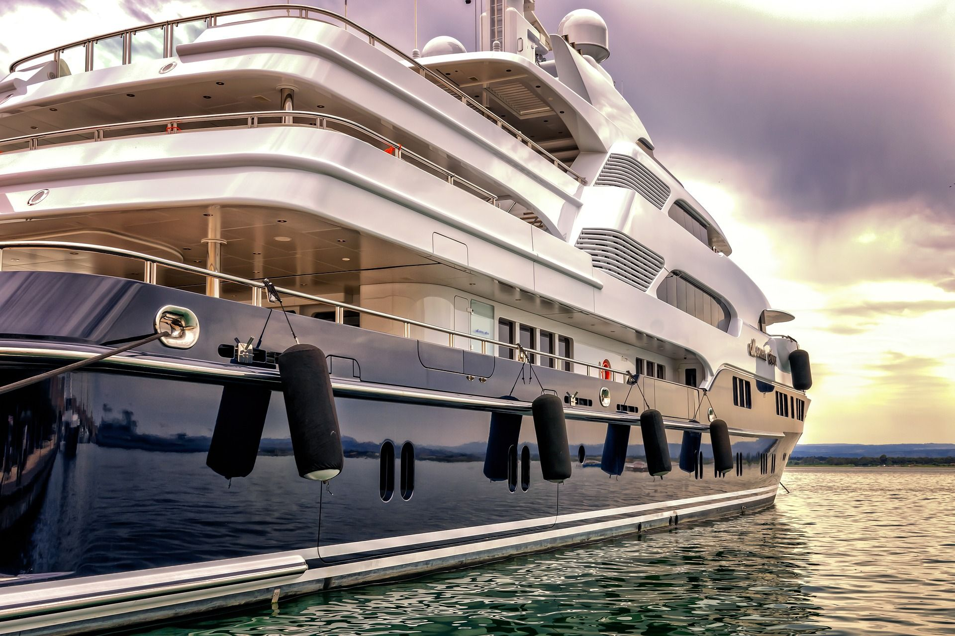 Superyachts At The Show