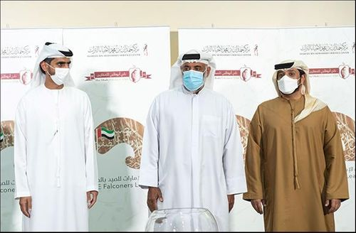 Sheikhs Category in the UAE Falconers League to Commence on February 9 in Dubai