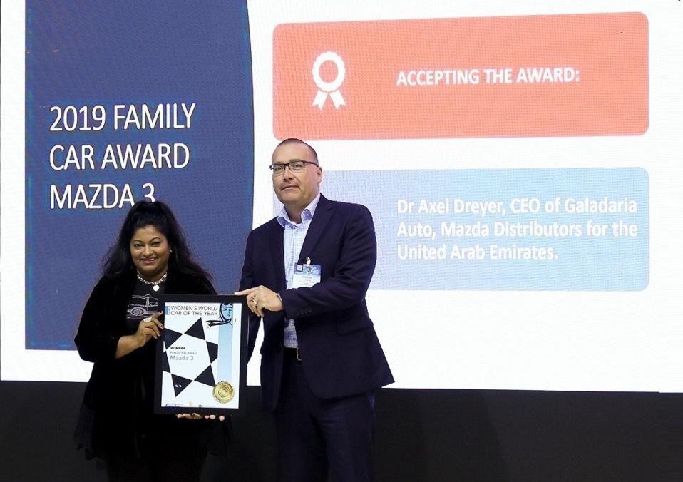 Family Car Award - Mazda 3