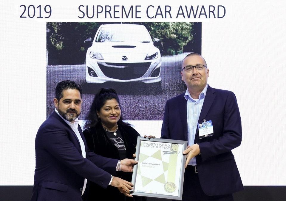 Superme Award - Mazda 3