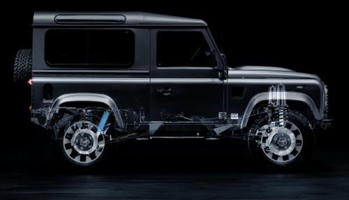 Land Rover Welcomes Old Defenders into the New Age