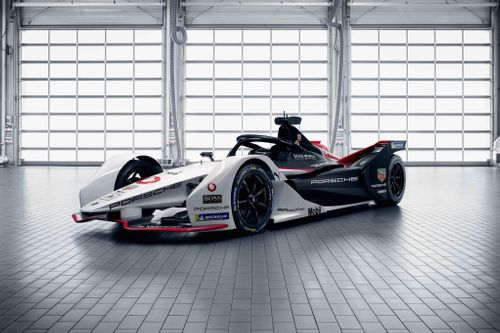 TAG Heuer Porsche Formula E Reveals 99X Electric Car