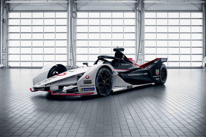 TAG Heuer Porsche Formula E Reveals 99X Electric Car