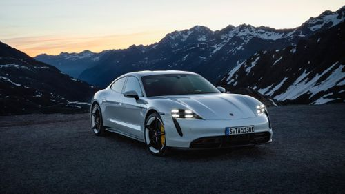 Porsche Premieres its First Fully-Electric Sports Car