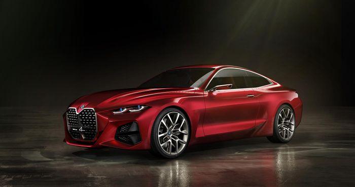 BMW Concept 4 Unveiled