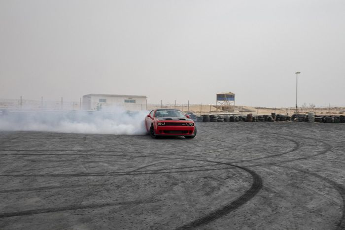 Dodge Unleashes its 'Muscle Experience' for Motorsport Enthusiasts in Dubai