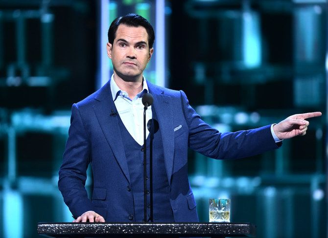 Jimmy Carr returned to the stage in Dubai