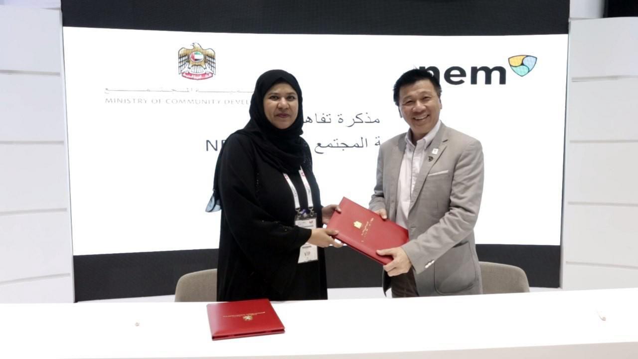 NEM Foundation, UAE Ministry Of Community Development Partner On Blockchain Tech
