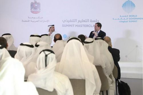 World Government Summit Organisation proposes high-tech solutions for future of governments