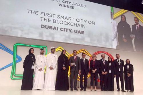 Smart Dubai wins Project City Award in Barcelona