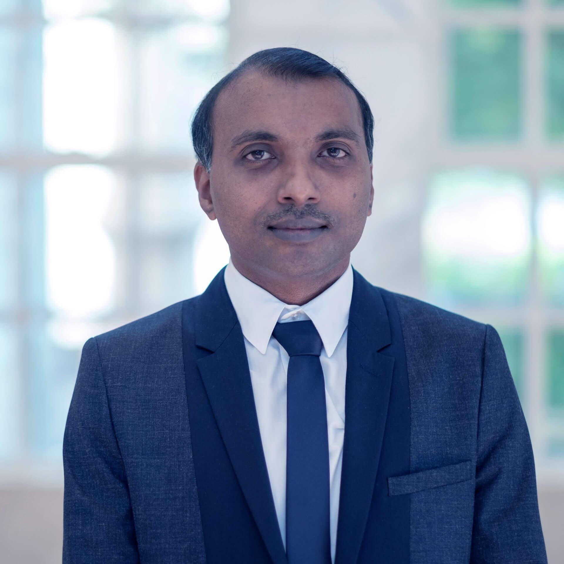 Vinod Pangracious, Ph.D.
