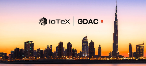 IoTeX Partners with Global Digital Asset Corporation (GDAC) for Dubai Foresight Initiative