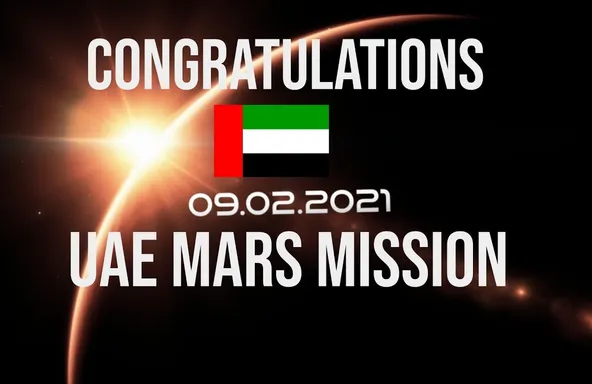 UAE makes history: UAE' Hope Probe has successfully entered orbit around Mars
