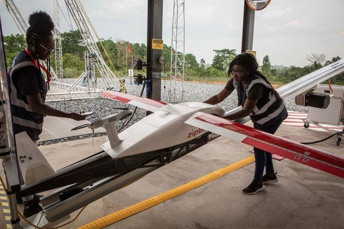 African startup uses drones to deliver COVID-19 tests