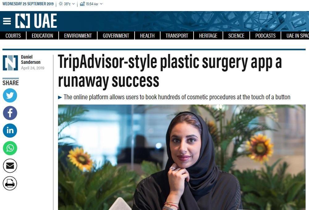 TripAdvisor-style plastic surgery app a runaway success