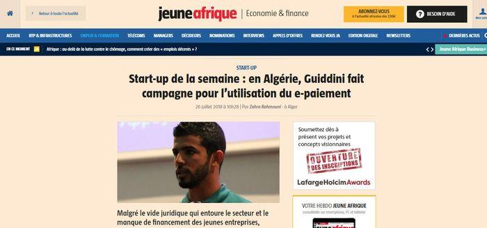 Start-up de la semaine : en Algérie, Guiddini fait campagne pour l'utilisation du e-paiement
