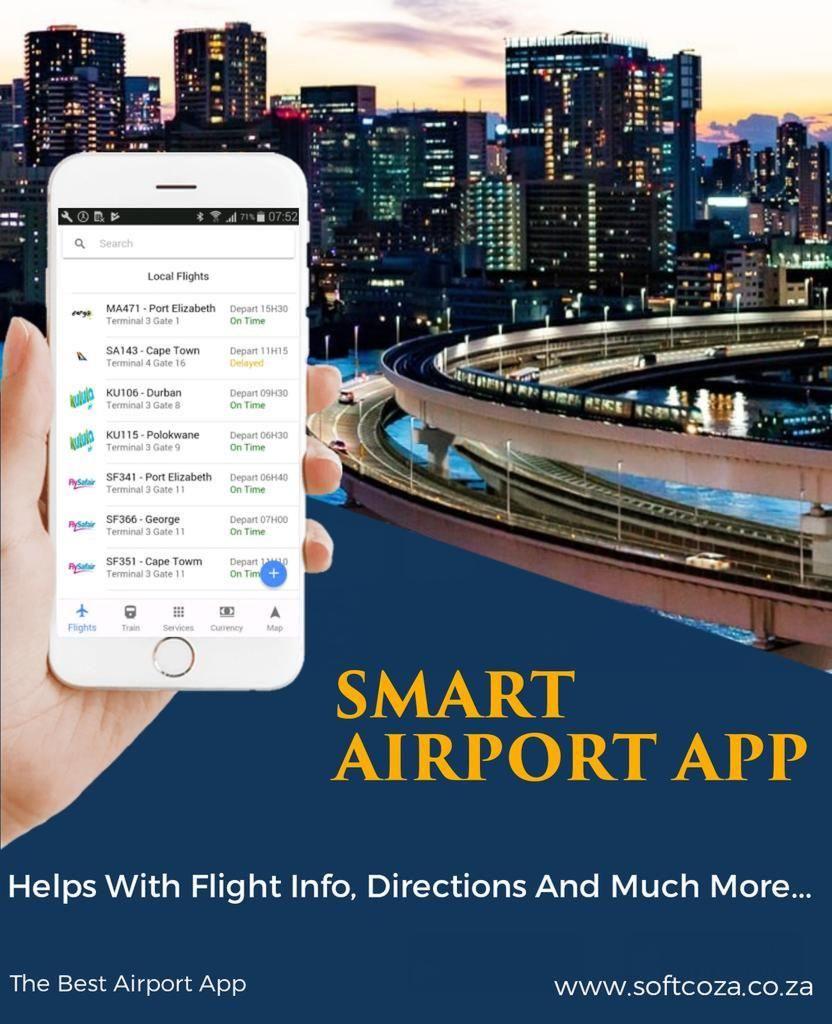 Smart renewable energy airport app solution