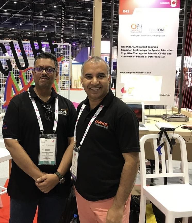 Orange Neurosciences, Canada in association with Rising Technologies, Bahrain launches award-winning SaaS technology, ReadON.ai for Special Education at GITEX 2019