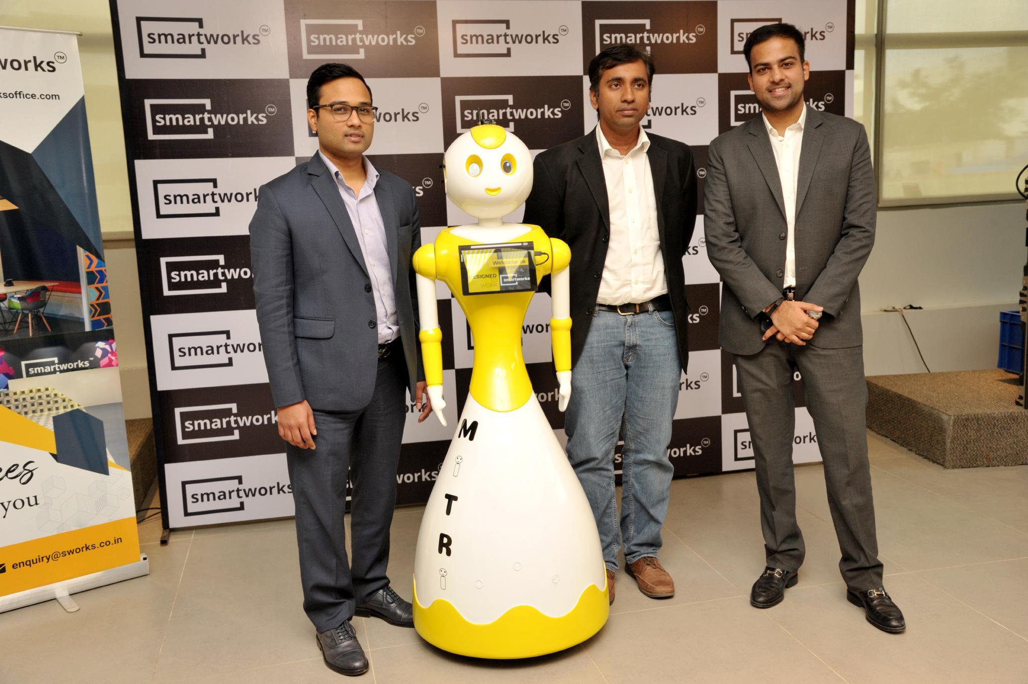 Invento Mitra receptionist for SmartWorks