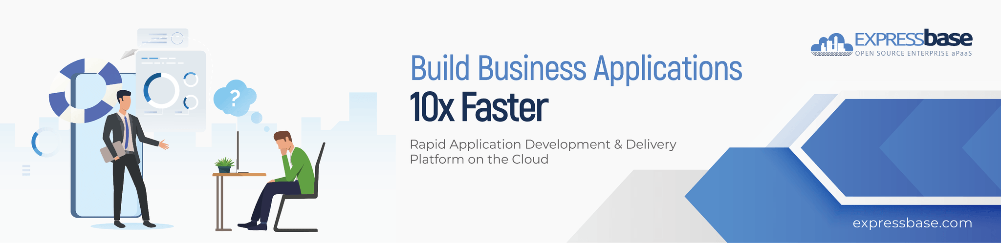 An open-source cloud platform to build business apps 10x faster