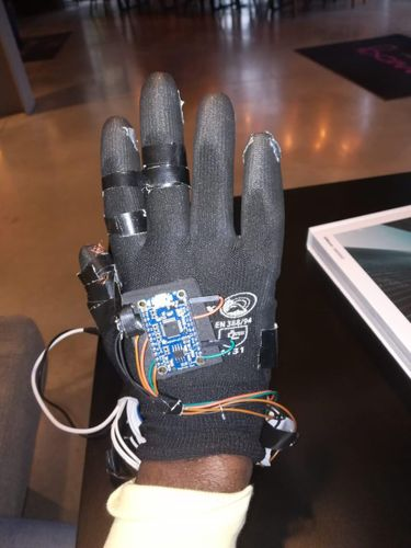 COMMUNI*CARE GLOVE SENSOR