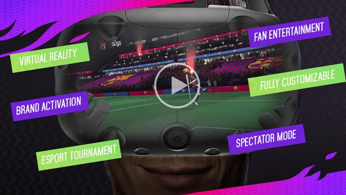 Virtual Soccer Zone