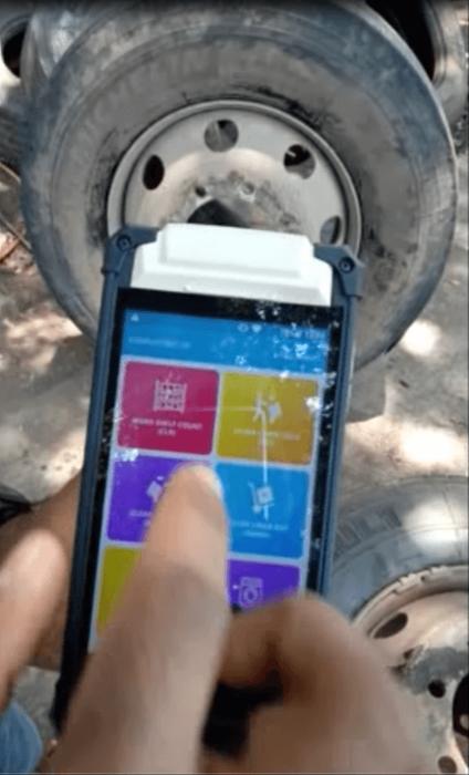 RFID Tire tracking