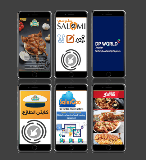 Mobile App for Online Ordering