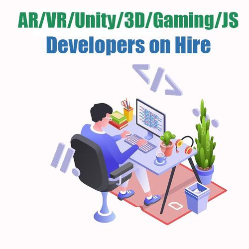 AR/VR/Unity/3D/Gaming/JS Developers on hire