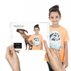Augmented Reality in Nursery Education & SCHOOLS - DINOSAUR 4D+