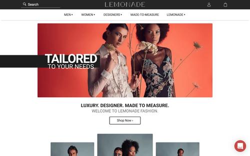 Lemonade Fashion Web-App